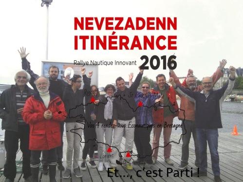 Bon vent, Nevezadenn-Itinérance